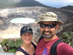 Poas main crater