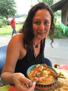 Seafood soup (Yum!)