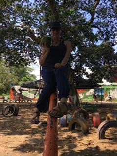 Coconut & seesaw