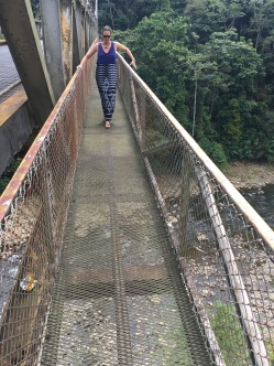 Scary high bridge