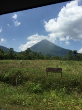 First Arenal sighting... and, land for sale