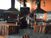 Wood 'coal' grills