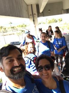 gathering prior to cruise