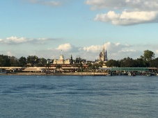 Magic Kingdom backdrop
